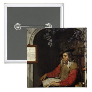 The Apothecary or, The Chemist 15 Cm Square Badge