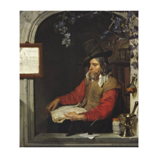 The Apothecary or, The Chemist Canvas Print