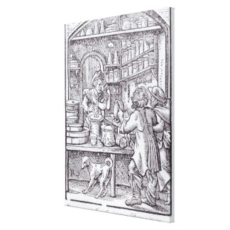 The Apothecary, published by Hartman Schopper Canvas Print