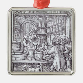 The Apothecary, published by Hartman Schopper Christmas Ornament
