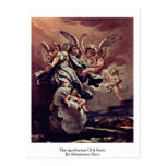 The Apotheosis Of A Saint By Sebastiano Ricci Post Cards