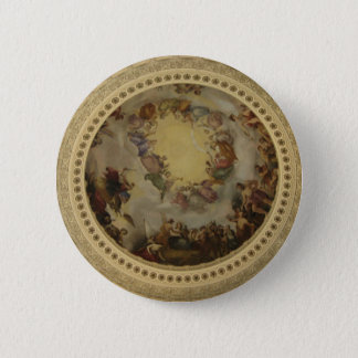 The Apotheosis of Washington  Washington DC Art 6 Cm Round Badge