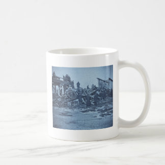 The Appalling Accident at Farmington River Cyan 2 Basic White Mug