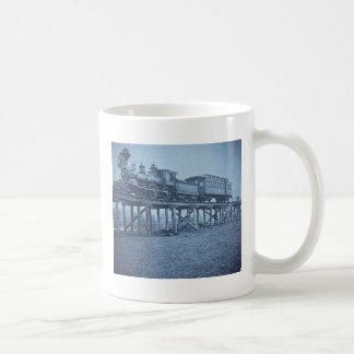 The Appalling Accident at Farmington River (Cyan) Basic White Mug