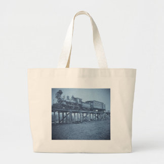 The Appalling Accident at Farmington River (Cyan) Jumbo Tote Bag