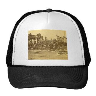 The Appalling Accident at Farmington River (Sepia) Hats