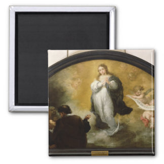 The Apparition of the Virgin, 1665 Magnet