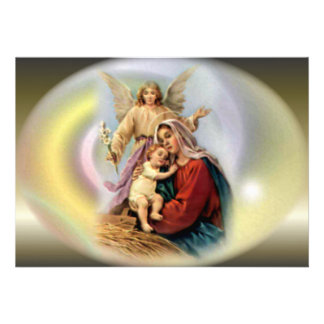 The Appearance of Angels and Blessed Virgin Mary Announcements