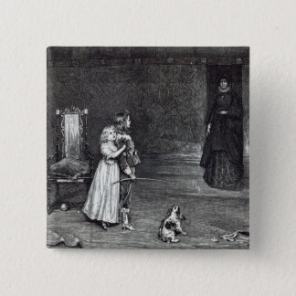 The Appearance of the Countess of Derby 15 Cm Square Badge