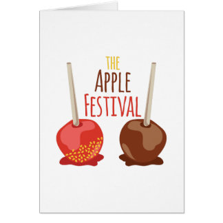 The Apple Festival Greeting Card