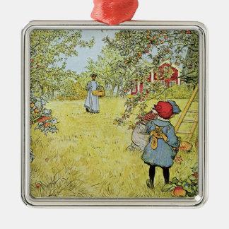 The Apple Harvest Christmas Ornament