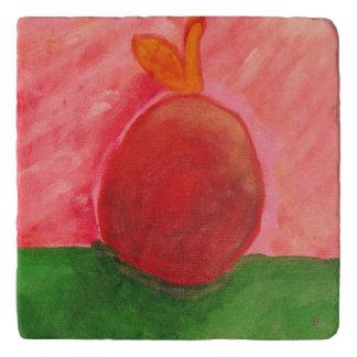 The Apple - Marble Trivet