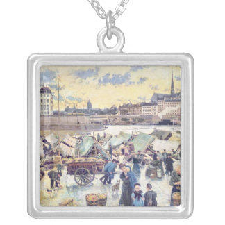 The Apple Market Silver Plated Necklace