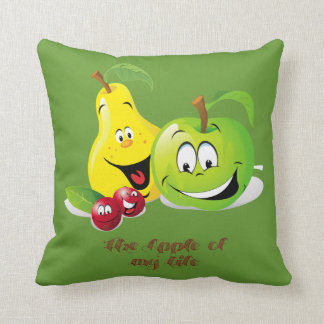 The Apple of my life American MoJo Pillow Cushion