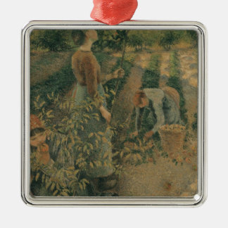 The Apple Pickers, 1886 Christmas Ornament