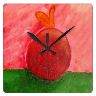 The Apple - Square clock