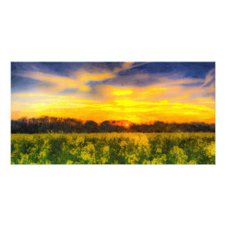 The April Farm Art Photo Cards