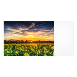 The April Farm Photo Greeting Card