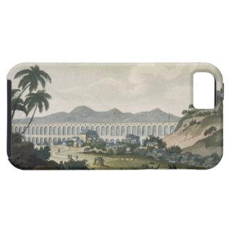 The aqueduct in Rio de Janeiro (colour engraving) iPhone 5 Cover