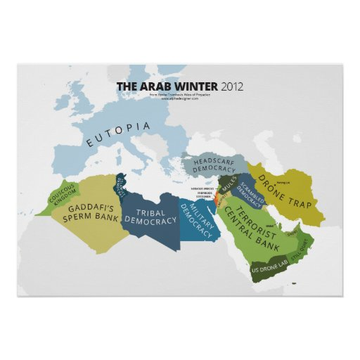 The Arab Winter Print