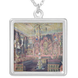 The Arabian Hall in the Catherine Palace 0 Silver Plated Necklace
