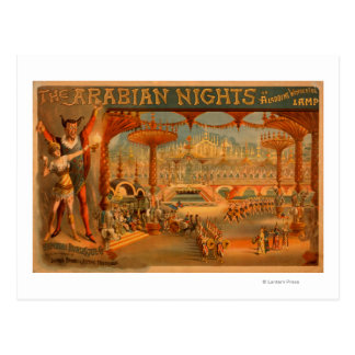 The Arabian Nights - Aladdin's Wonderful Lamp Postcard