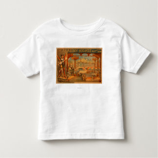 The Arabian Nights - Aladdin's Wonderful Lamp Toddler T-Shirt