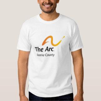 The Arc of Luzerne County Men's Basic White T Tshirts