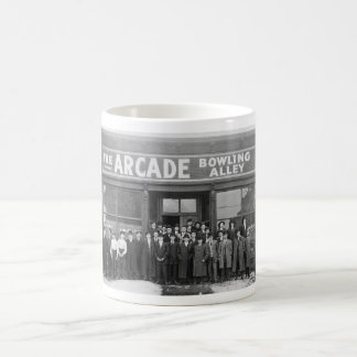 The Arcade Bowling Alley Vintage Saloon Mugs