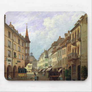 The Arcades, Grand Rue, Colmar, 1876 Mouse Pad