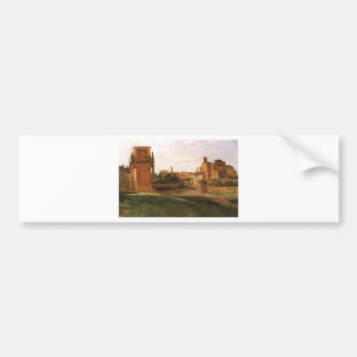 The Arch of Constantine and the Forum, Rome Bumper Sticker