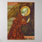 The Archangel Gabriel, c. 1430 (tempera on panel) Poster