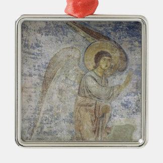 The Archangel Gabriel Silver-Colored Square Decoration