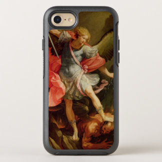 The Archangel Michael defeating Satan OtterBox Symmetry iPhone 7 Case