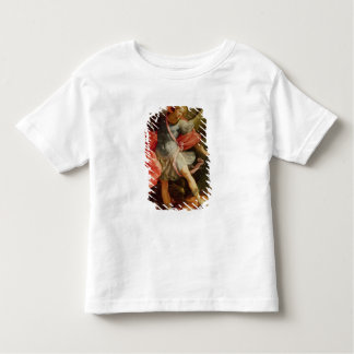 The Archangel Michael defeating Satan Toddler T-Shirt