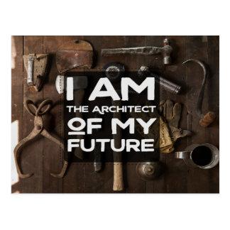The Architect Of My Future Postcard