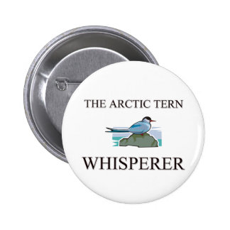 The Arctic Tern Whisperer Buttons