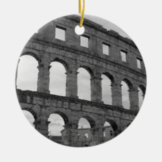 The Arena at Pula Christmas Ornament