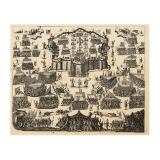 The arena of the Christian knight. 1560 Wood Canvas