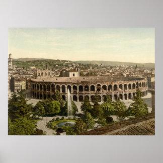 The Arena, Verona, Italy Poster