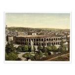 The Arena, Verona, Italy vintage Photochrom