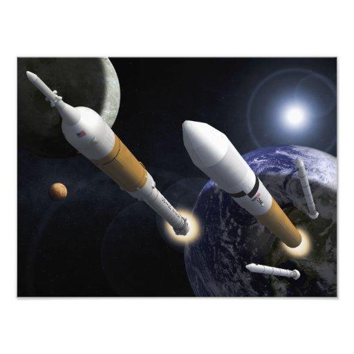 The Ares I Crew Launch Vehicle Photo Art