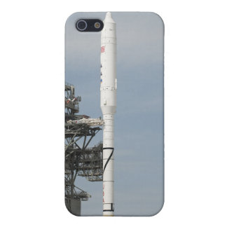 The Ares I-X rocket is seen on the launch pad iPhone 5/5S Covers