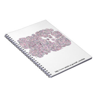 The arithmetic Mandara note where the cat which Spiral Notebook