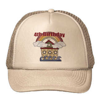 The Ark 4th Birthday Gifts Trucker Hat