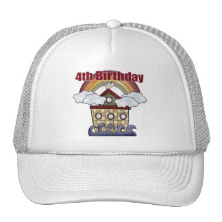 The Ark 4th Birthday Gifts Trucker Hats