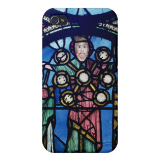 The Ark of the Covenant window, detail of God with iPhone 4 Covers