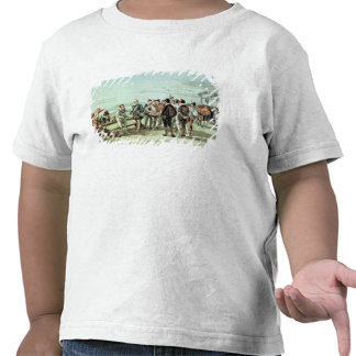 The Armada of 1888 in Sight T-shirts