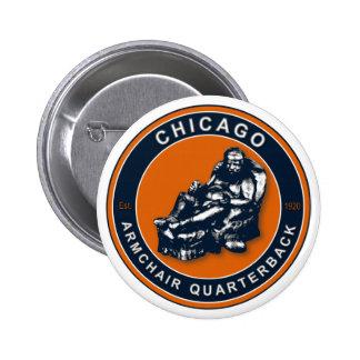 THE ARMCHAIR QB - Chicago 6 Cm Round Badge