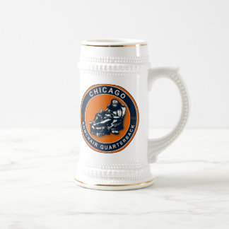 THE ARMCHAIR QB - Chicago Beer Stein